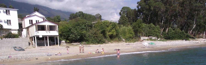 Землю в остров Афон на берегу моря